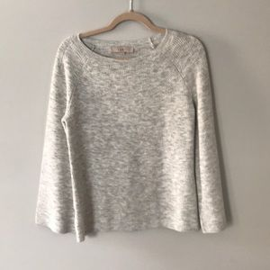 LOFT bell sleeves sweater. Small